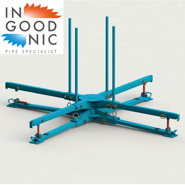 ingoodnic on site pipe decoiler